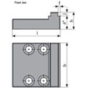 Picture for category Reversible Step 5-Axis Fixed Jaws